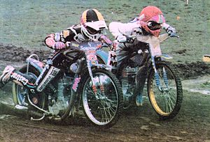 Hans Nielsen (speedway rider) - Hans Nielsen (left), 1994