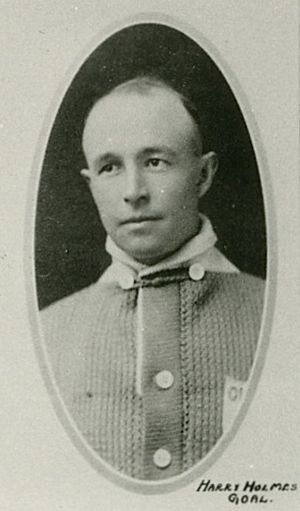 Hap Holmes - Hap Holmes with the Toronto Arenas