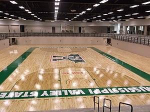 Harrison HPER Complex - Image: Harrison HPER Complex Gym Floor