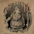 Harvey Leech, a dwarf. Wood engraving. Wellcome V0007168.jpg