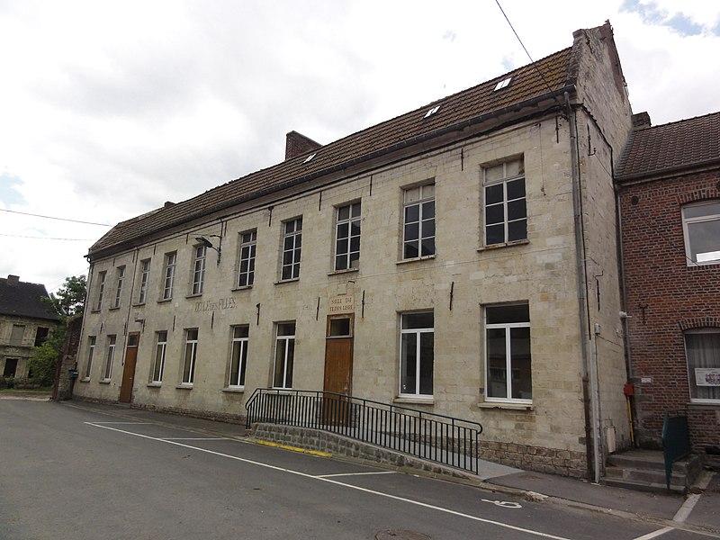 Haspres (Nord, Fr) Salle du temps libre