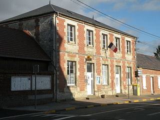 Haudivillers Commune in Hauts-de-France, France