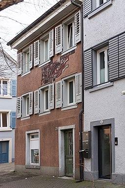 Kreuzlinger Straße in Konstanz