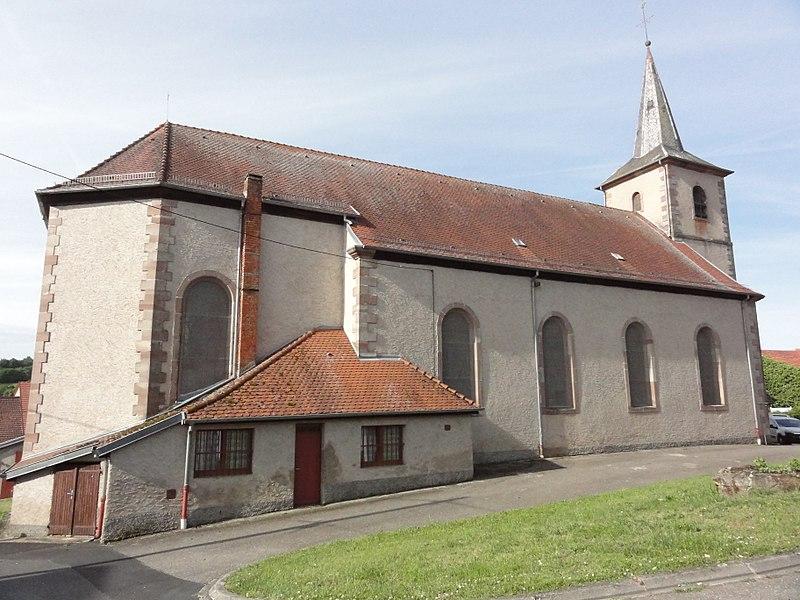 Haut-Clocher (Moselle) église churches in Moselle