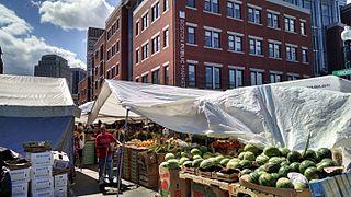 Each Friday And Saay Vendors From The Haymarket Pushcart Ociation Set Up On Hanover Street Next To Boston Public Market