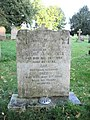 Headstone of Queenie Olive Aves and Shed Aves in St Mary's parish churchyard, Shelton, Norfolk.jpg