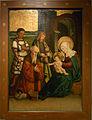 Hechingen Hohenzollerisches Landesmuseum spätgotischer Altar Anbetung17525.jpg