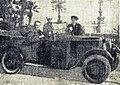 Hector Petit, vainqueur du rallye Monte Carlo 1930, sur La Licorne 5CV.jpg
