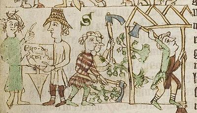 Dorfgründung im Sachsenspiegel