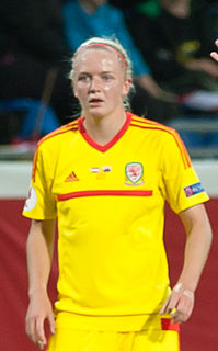 Helen Bleazard Welsh footballer