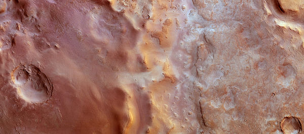 Hellas Chaos on Mars.