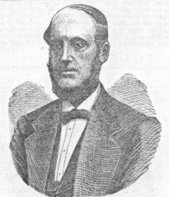 Henry Bird (chess player) - Drawing of Henry Bird by Sam Loyd, 1877 Scientific American Supplement