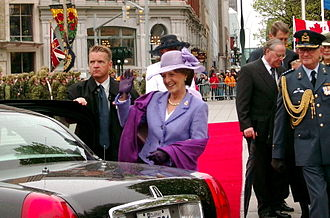 Canadian Tulip Festival - Princess Margriet returns to Ottawa to attend the Canadian Tulip Festival in May 2002.