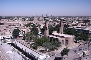 2001 uprising in Herat - Image: Herat view mosques