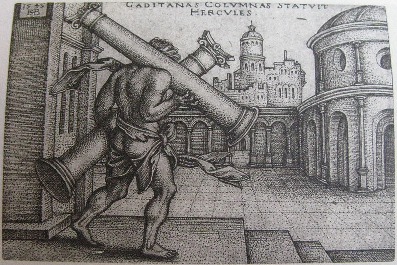 File:Hercules carrying the columns of Gaza, Iconotheca Valvasoriana.jpg