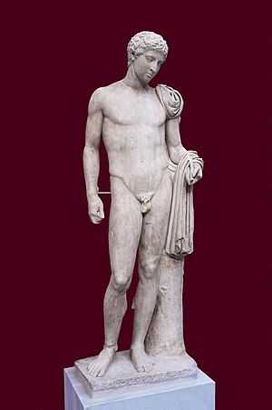 image of Hermes from Agaion 241 NAMAthens