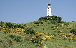 Dornbusch Lighthouse on Hiddensee Island