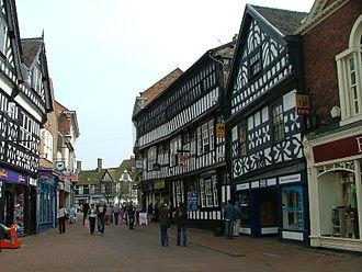 Nantwich - Image: High Street, Nantwich