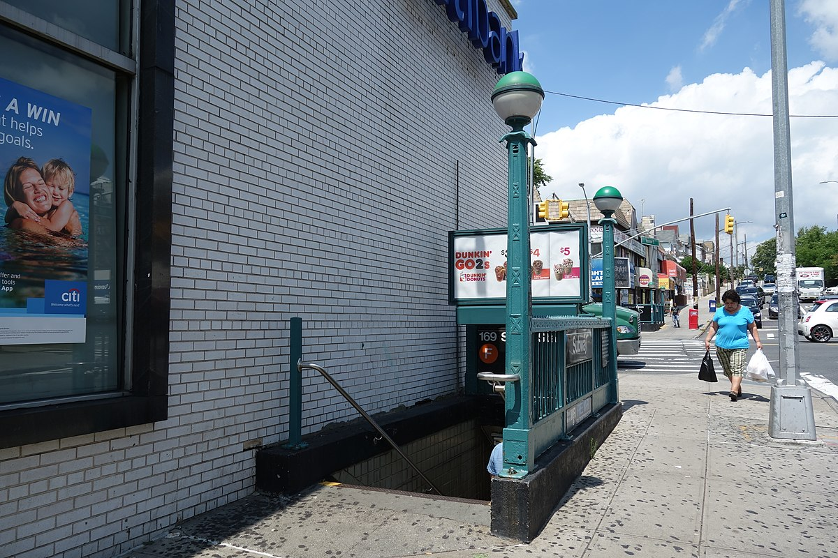 City Line Avenue >> 169th Street station (IND Queens Boulevard Line) - Wikipedia