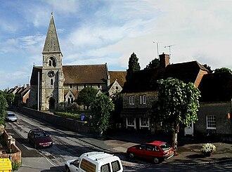 Hindon, Wiltshire - Image: Hindon