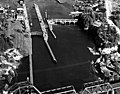 Hiram M. Chittenden Locks, Lake Washington Ship Canal aerial view, Seattle, Washington (4861195574).jpg