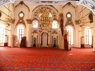 Hisar Mosque - Interior of the Mosque