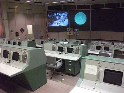 Apollo Mission Control Center, Houston