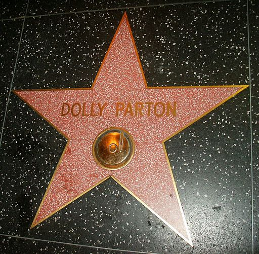 Hollywood Star Dolly Parton