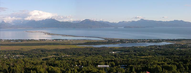 Homer Alaska Map