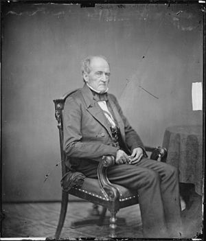John Bell (Tennessee politician) - Photograph of Bell by Mathew Brady