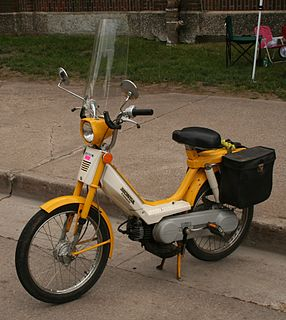 small motorcycle-like motor road vehicle