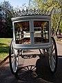 Horse drawn white hearse City of London Cemetery 4.jpg