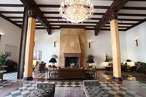 Hotel Normandie - Fully restored lobby with original Moorish details (2016)