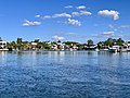 Houses in Sanctuary Cove seen from Coomera River, Queensland 14.jpg