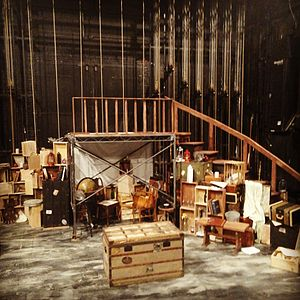 Powerhouse Theater - Image: How the Lighthouse Became an Island, Powerhouse Theater, April 2016