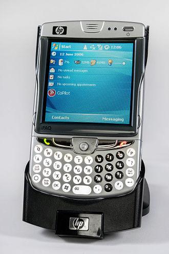 IPAQ - Image of HP iPAQ HW910 PDA