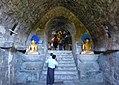 Htukkanthein temple interior Buddhas.jpg