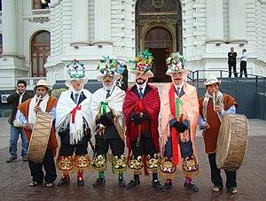 Pinkillu - Image: Huari Danza