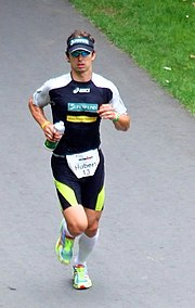 Hubert Hammer beim Ironman Germany, 2007