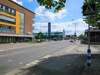 Huittinen Town in Satakunta, Finland