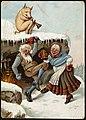 Humoristisk julemotiv tegnet av Wilhelm Larsen (24207680948).jpg