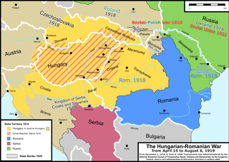Hungarian–Romanian War - Wikipedia