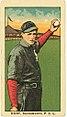 Hunt, Sacramento Team, baseball card portrait LCCN2008677324.jpg