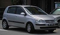 Hyundai Getz (first generation) (front), Serdang.jpg