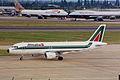 I-BIKE A320-214 Alitalia LHR 30JUN99 (5863236957).jpg