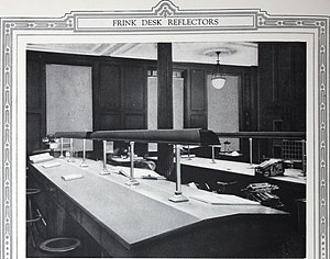 Mechanics and Metals National Bank - Image: I.P. Frink reflectors designer and manufacturer of scientific and artistic lighting specialties (1921) (14596719560)