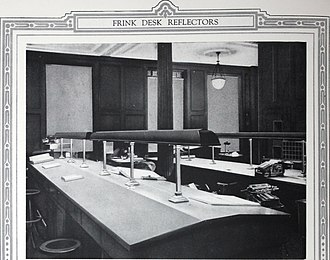 Mechanics and Metals National Bank - Mechanics and Metals National Bank of the City of New York banking room in 1921, covering an area of approximately 10,500 square feet.