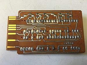IBM Standard Modular System - Image: IBM SMS card circuit side.agr