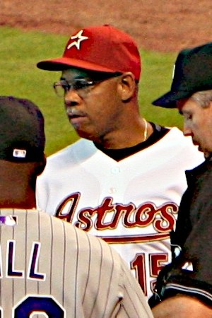 Cecil Cooper - Cooper as coach for the Houston Astros in 2007