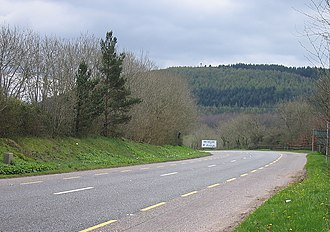 R639 road (Ireland) - The R639 leaving Fermoy heading south